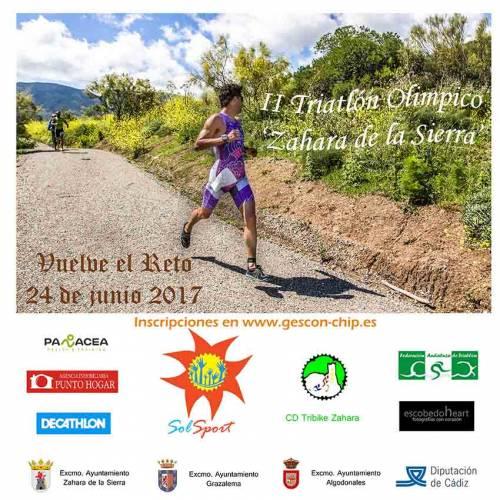 II Triatlón Olímpico Zahara de la Sierra