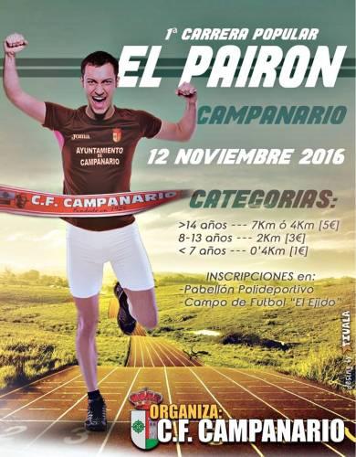 1ª Carrera Popular El Pairón