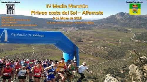 IV Media Maratón Pirineo Costa del Sol Alfarnate