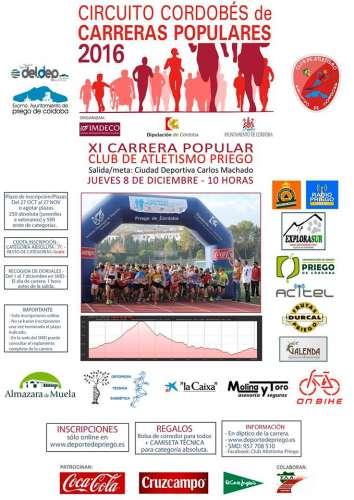 XI Carrera Popular  Club  Atletismo Priego