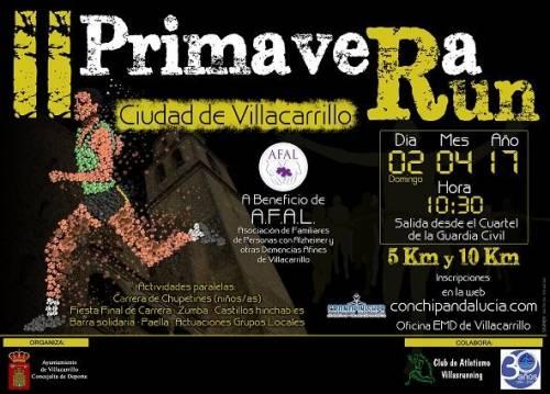 II Primavera Run Ciudad de Villacarrillo