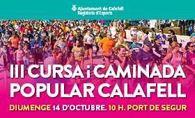 Carrera Popular 3a Cursa Popular i marxa n�rdica a Calafell