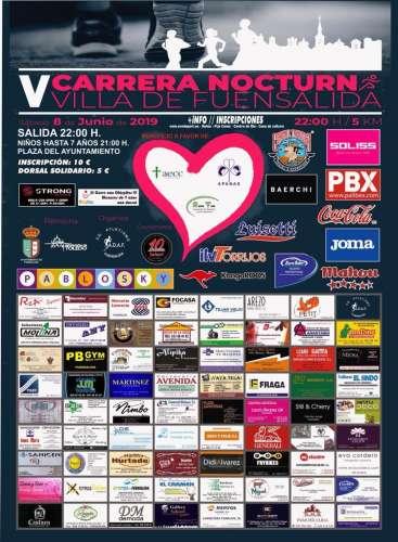 V Carrera Nocturna Villa de Fuensalida