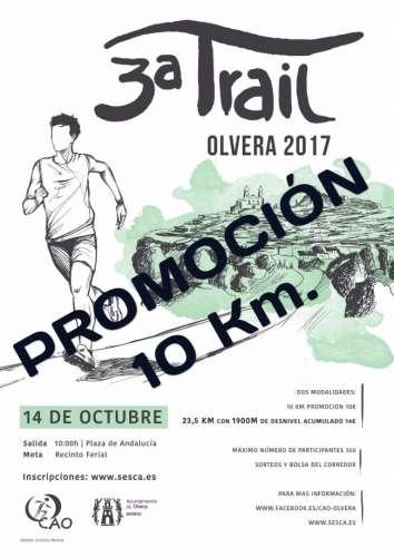 III Trail Olvera - Promoción 10 km