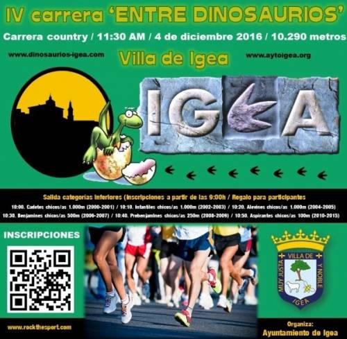 IV Carrera Entre Dinosaurios Villa de Igea