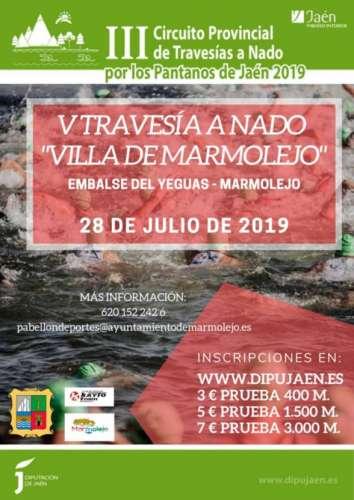 V Travesia a Nado Villa de Marmolejo