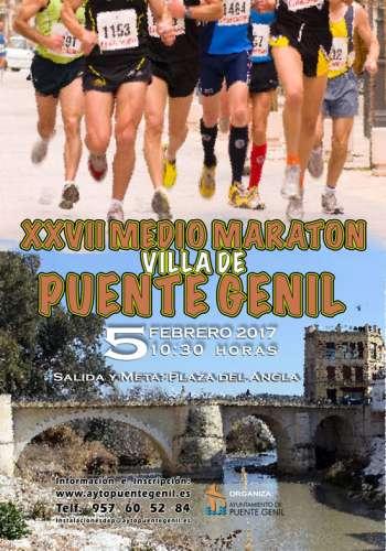 XXVII Medio Maratón Villa de Puente Genil
