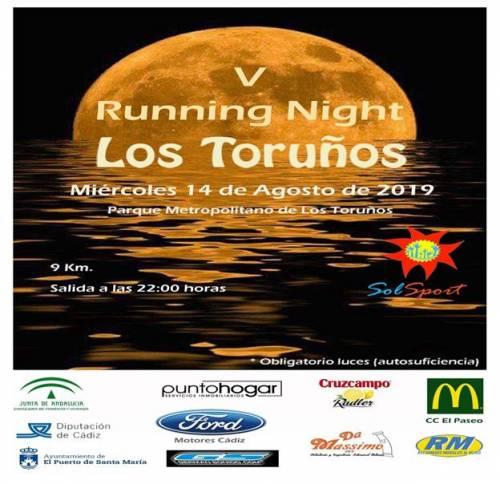 Carrera V Running NIGHT Los Toruños