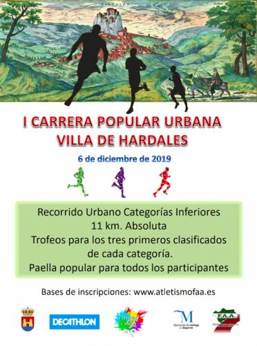 I Carrera Urbana Villa de Ardales