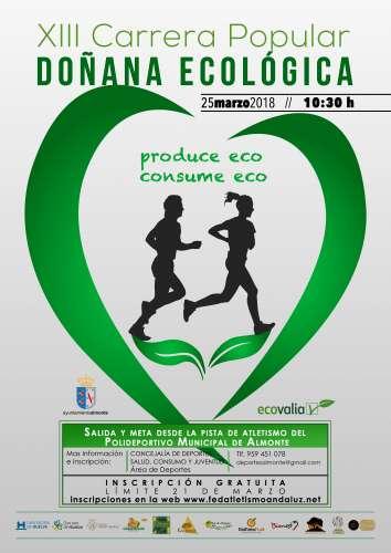 XIII Carrera Popular Doñana Ecológica