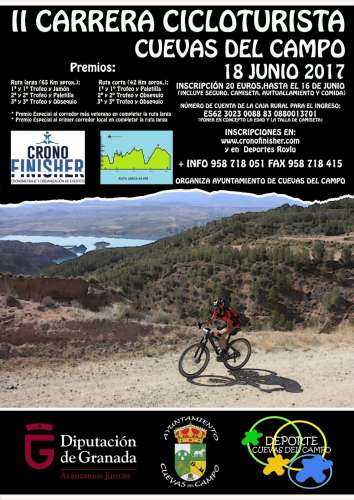 II Ruta Cicloturista Cuevas del Campo