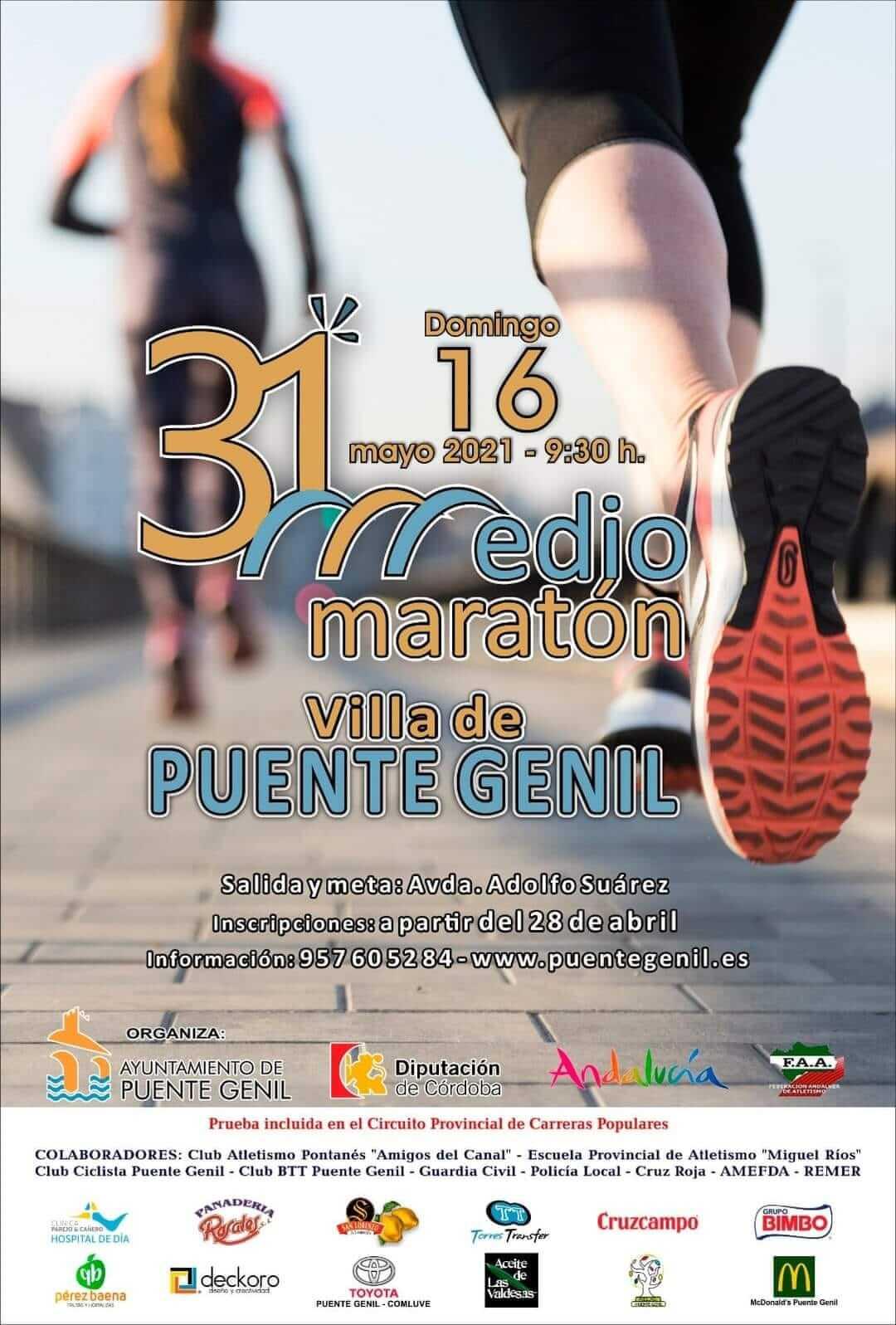 XXXI Medio Maratón Villa de Puente Genil