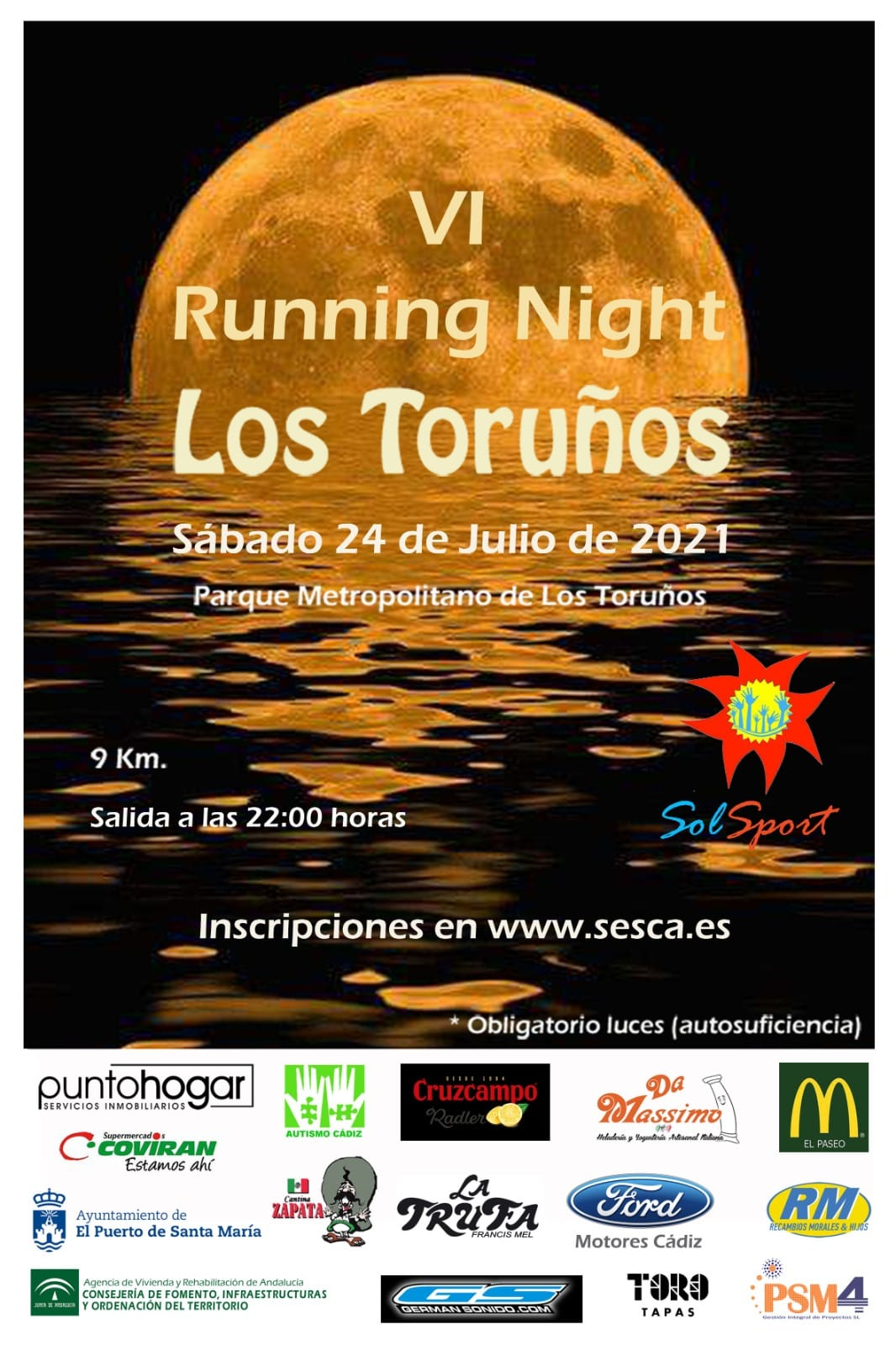 VI Running Night los Toruños