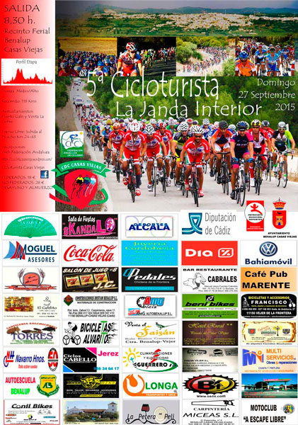 Carrera V Cicloturista La Janda Interior