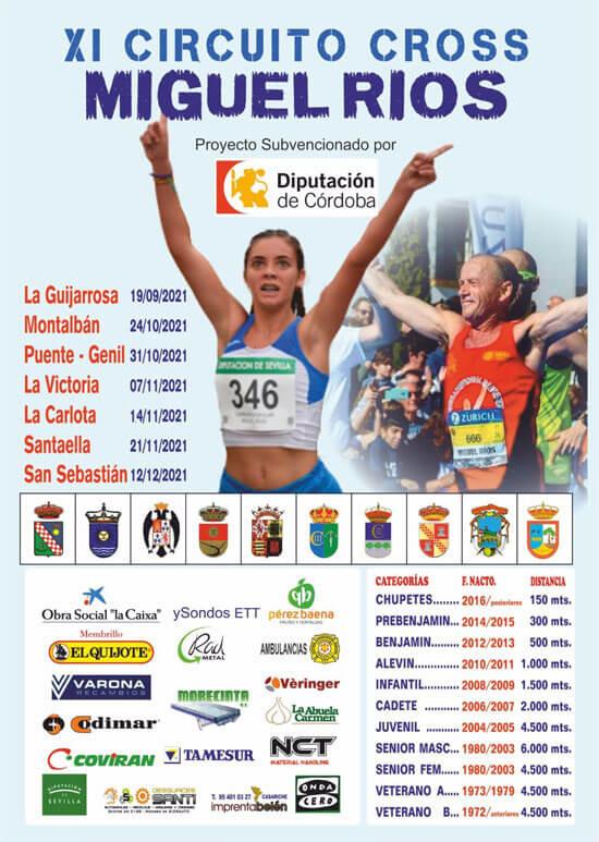 XI Circuito de Cross Escuela de Atletismo Miguel Ríos Montalbán