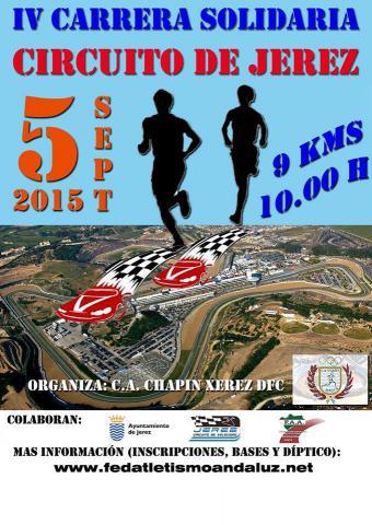 IV Carrera Solidaria Circuito de Jerez