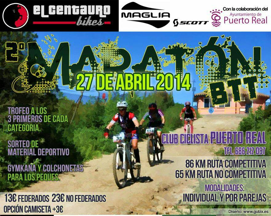 II Maratón BTT Club Ciclista Puerto Real