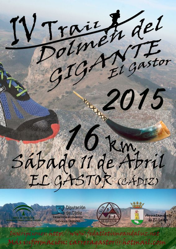 Carrera IV Trail Dolmen del Gigante