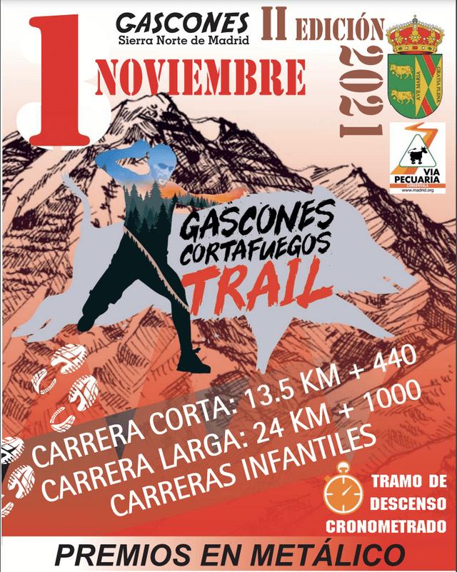 Gascones Cortafuegos Trail