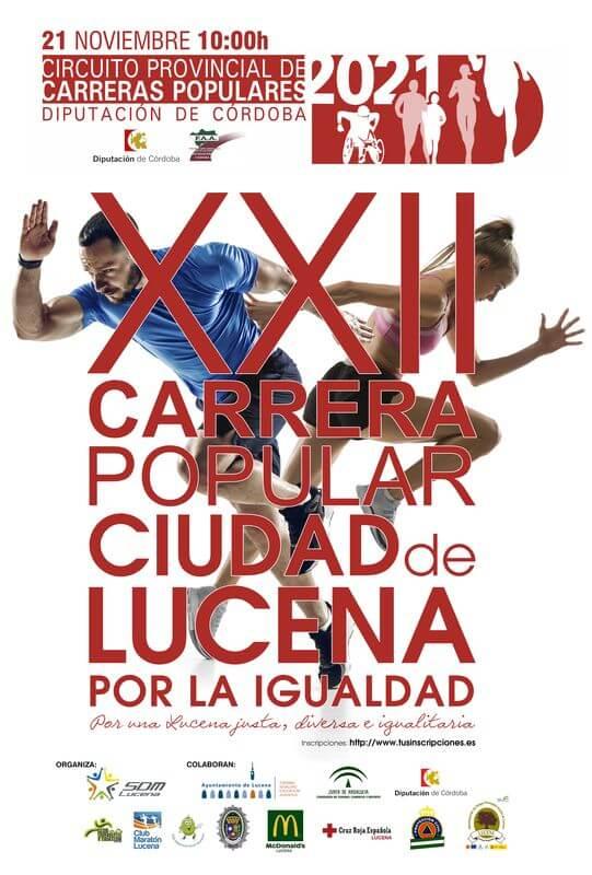 XXII Carrera Popular Ciudad de Lucena por la Igualdad
