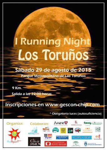 Carrera I Running Night Los Toruños
