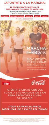 Marcha Coca-Cola Sevilla 2015