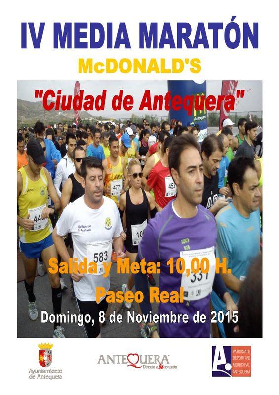 Carrera IV Media Maratón McDonalds Ciudad de Antequera