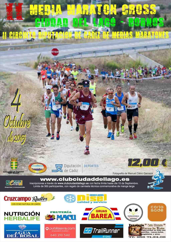 Carrera II Media Maratón Cross Ciudad del Lago
