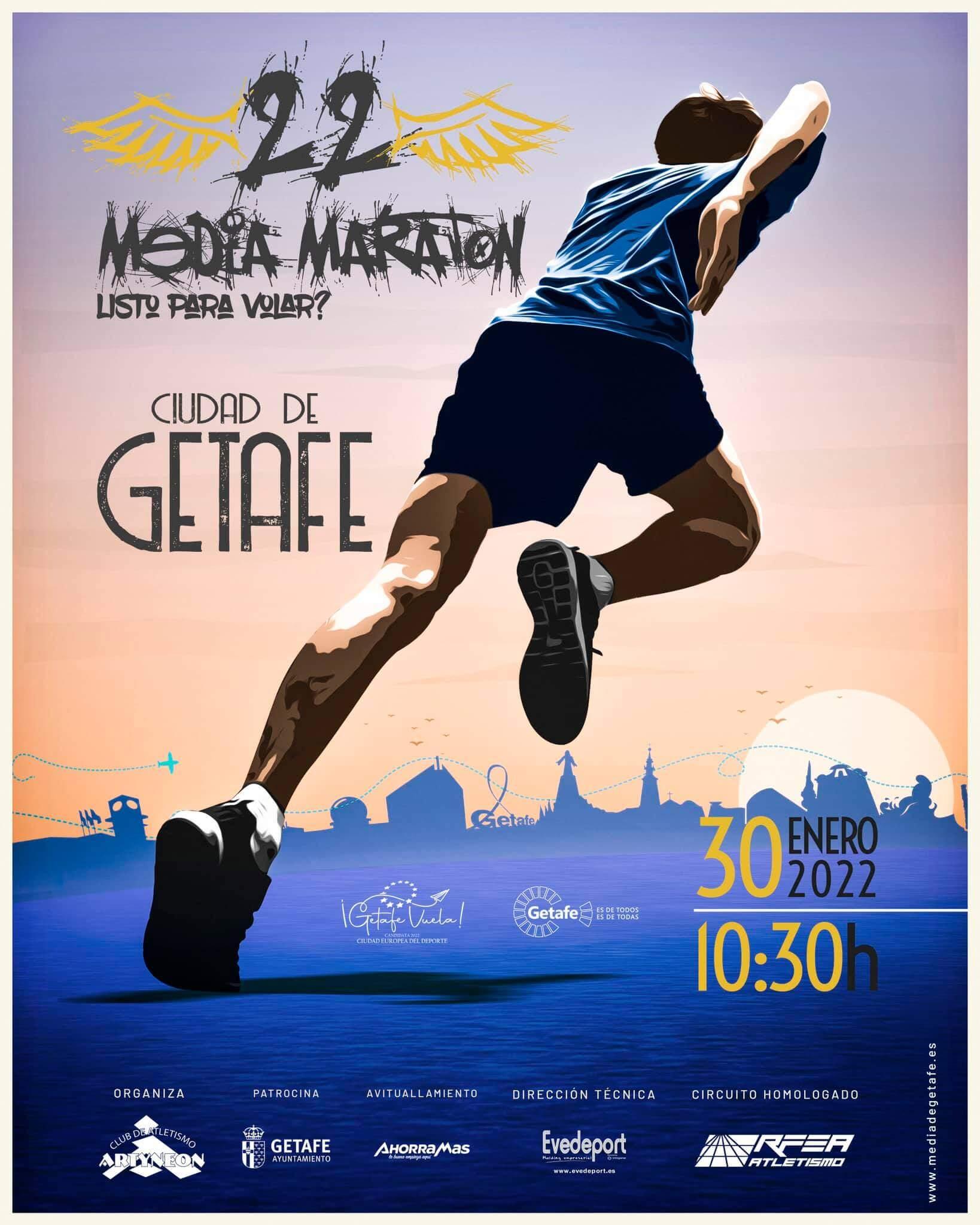XXII Media Maratón Ciudad de Getafe
