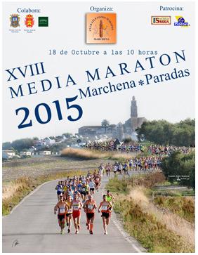Carrera XVIII Media Maratón Marchena-Paradas