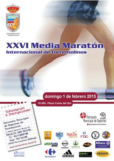 Carrera XXVI Media Maratón de Torremolinos