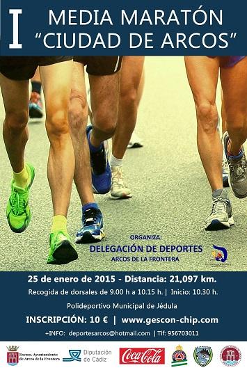 Carrera I Media Maratón Ciudad de Arcos