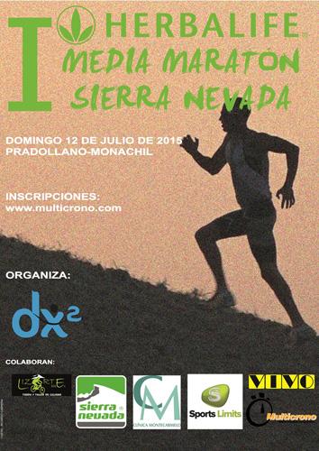 I Media Maratón Herbalife Sierra Nevada 2015