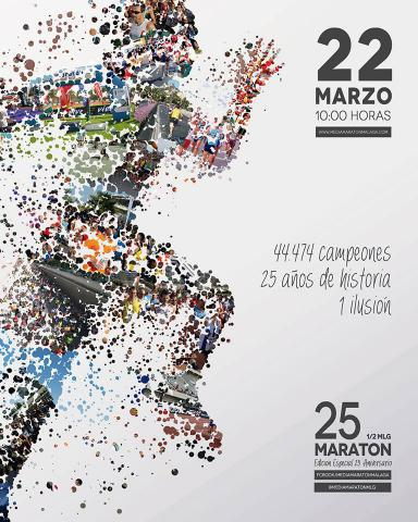 Carrera XXV Medio Maratón Ciudad de Málaga
