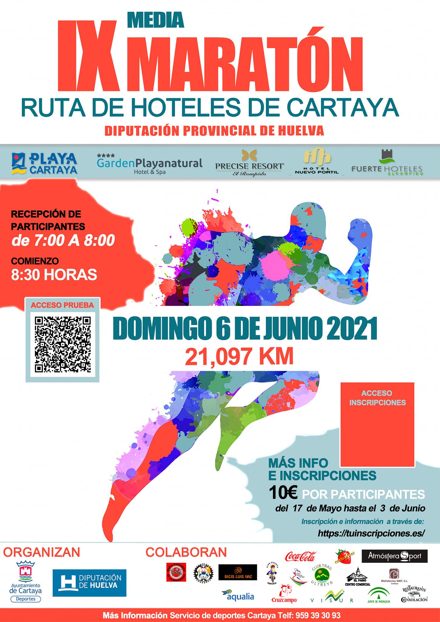 IX Media Maratón Ruta Hoteles de Cartaya