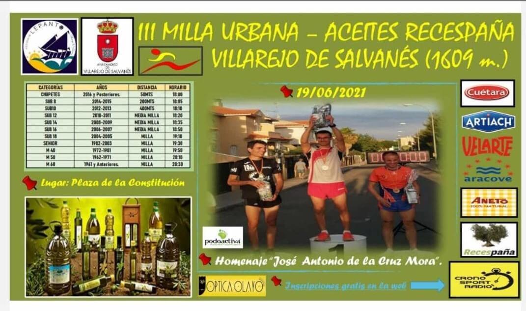 III Milla Urbana – Villarejo de Salvanés