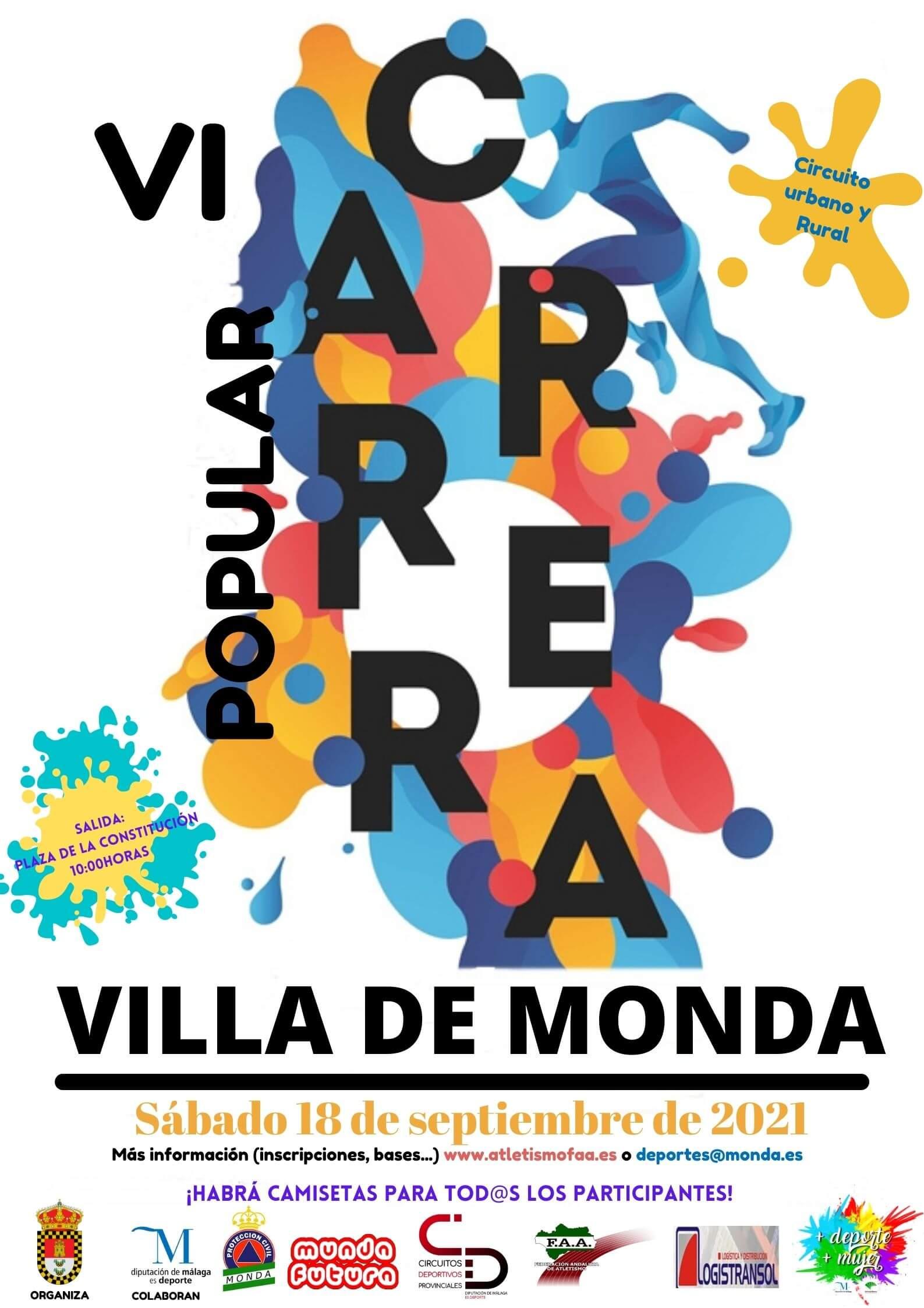 VI Carrera Popular Villa de Monda