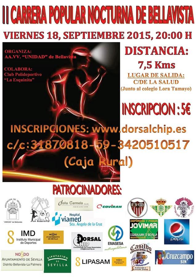 II Carrera Popular Nocturna de Bellavista