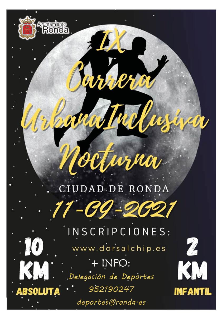 IX Carrera Nocturna de Ronda