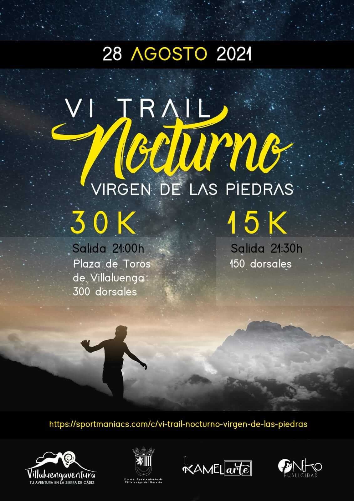 VI Trail Nocturno Virgen de las Piedras