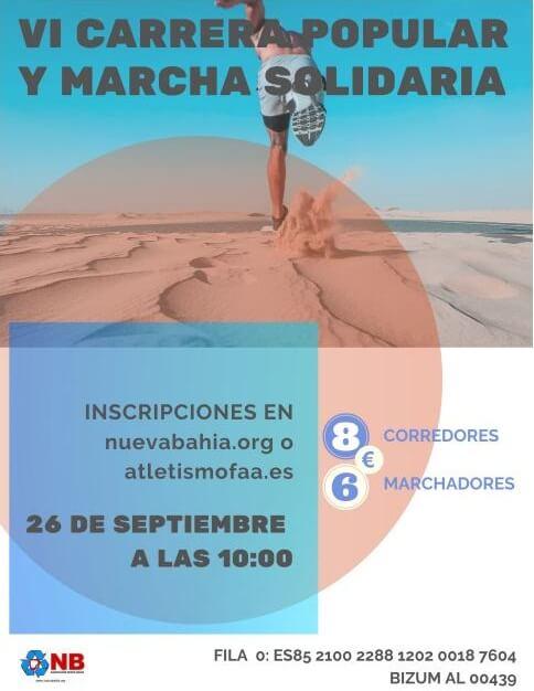 VI Carrera Popular y Marcha Solidaria Nueva Bahía