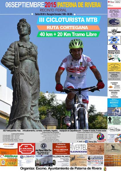 Carrera III Marcha Cicloturista MTB Ruta Cortegana