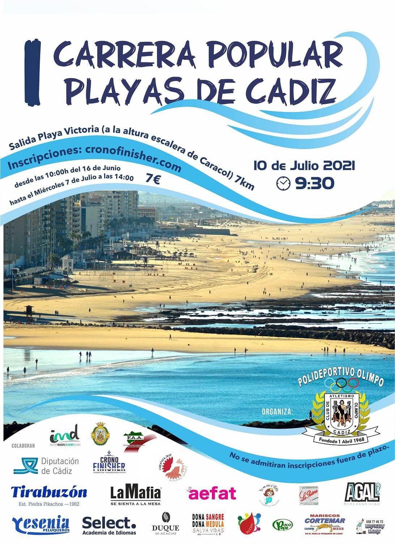 I Carrera Popular Playas de Cádiz