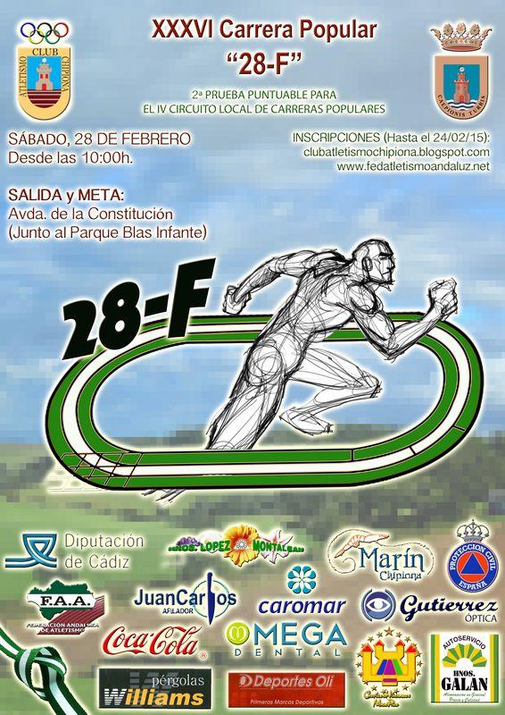 Carrera XXXVI Carrera Popular 28F Chipiona