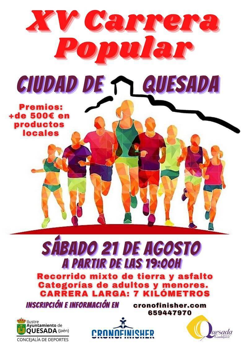 XV Carrera Popular Ciudad de Quesada