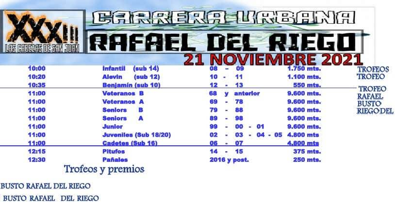 XXXIII Carrera Urbana Rafael del Riego
