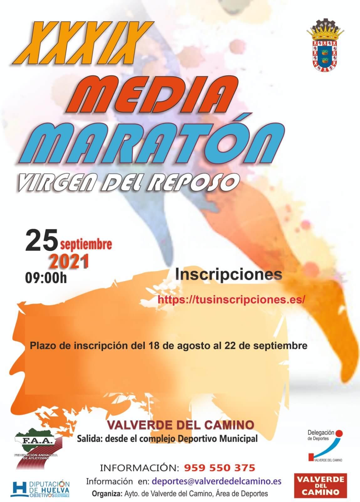 39 Media Maratón Virgen del Reposo