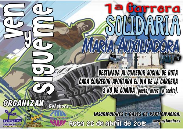 Carrera I Carrera Solidaria Mª Auxiliadora