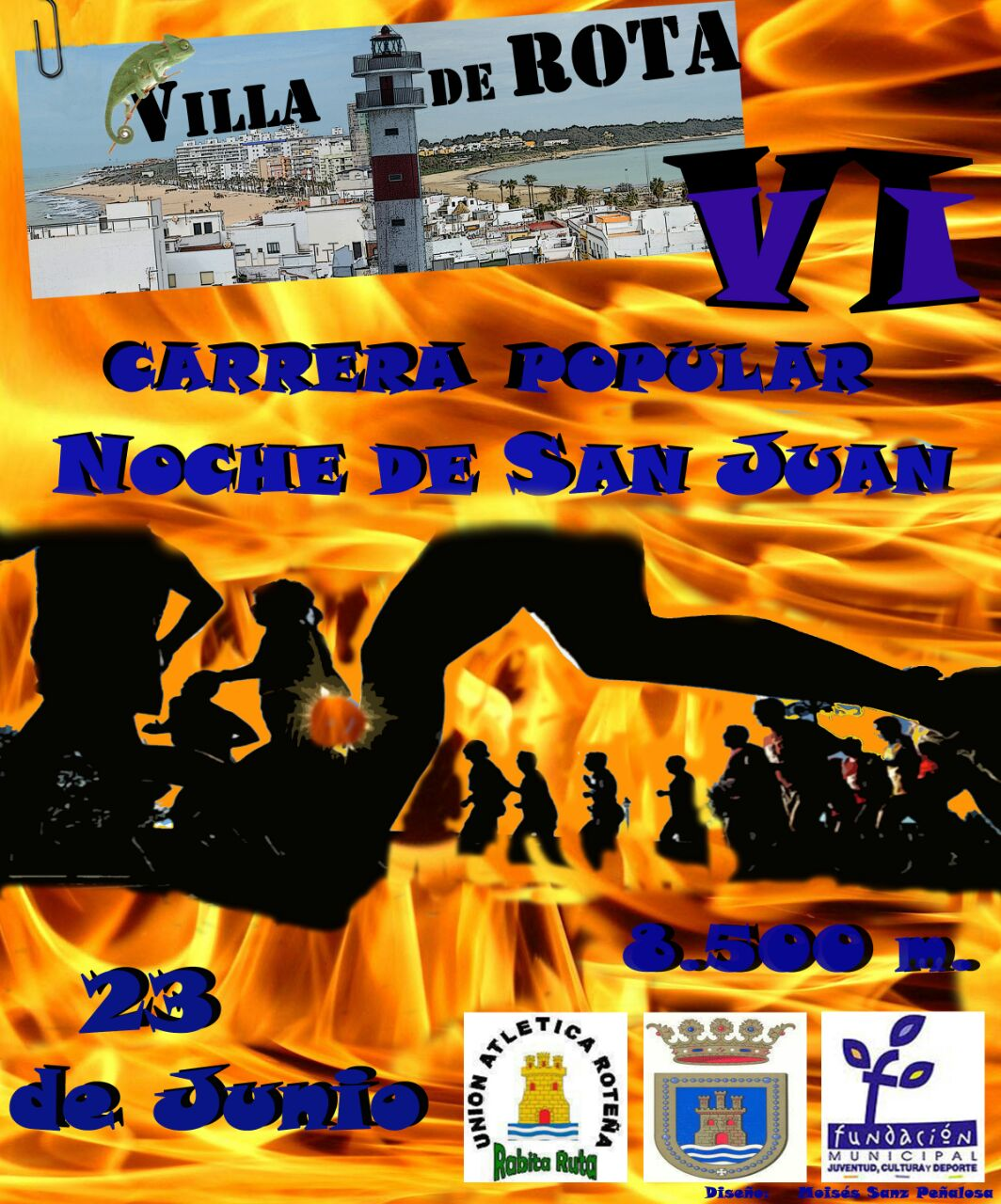 Carrera VI C.P. Noche de San Juan Villa de Rota