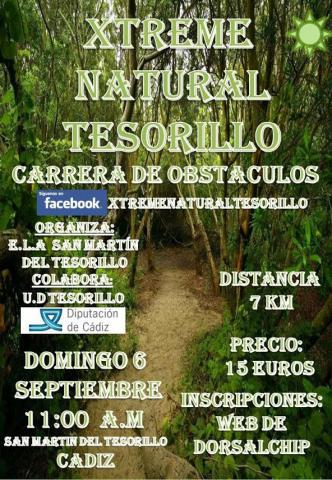 Carrera I Xtreme Natural Tesorillo